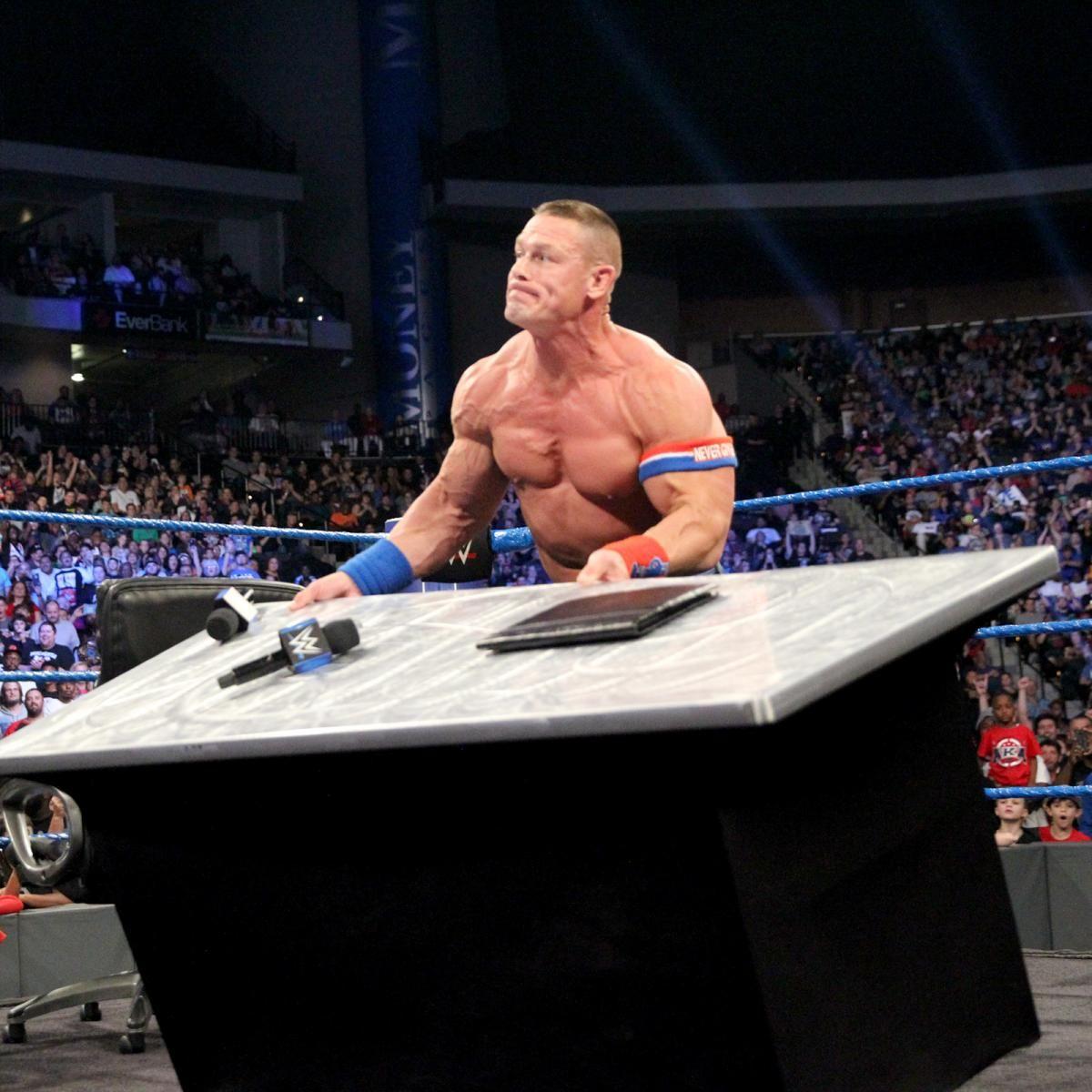 SmackDown 1/3/17: AJ Styles And John Cena's Royal Rumble