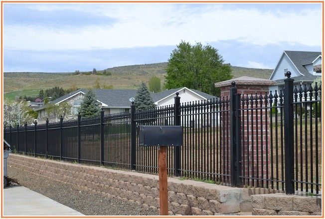 Incredibly How Much Does A Wrought Iron Fence Cost Dengan Gambar