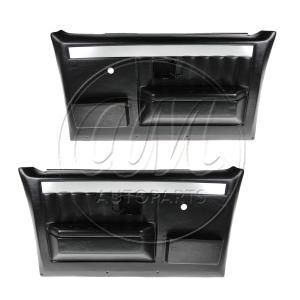 1977 1986 Chevy K20 Truck Molded Plastic Door Panels W Map Pockets For Models With Manual Windows Chevy Truck Interior Trucks