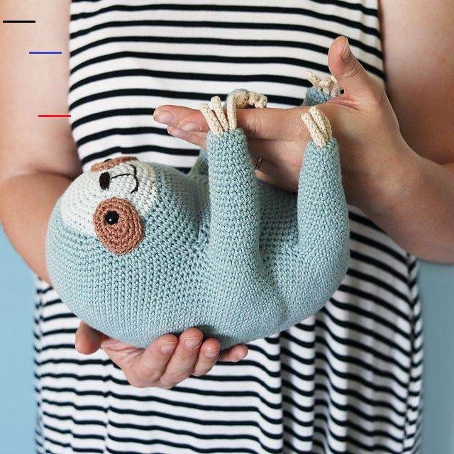 Ollie The Sloth pattern by Irene Strange - # ...