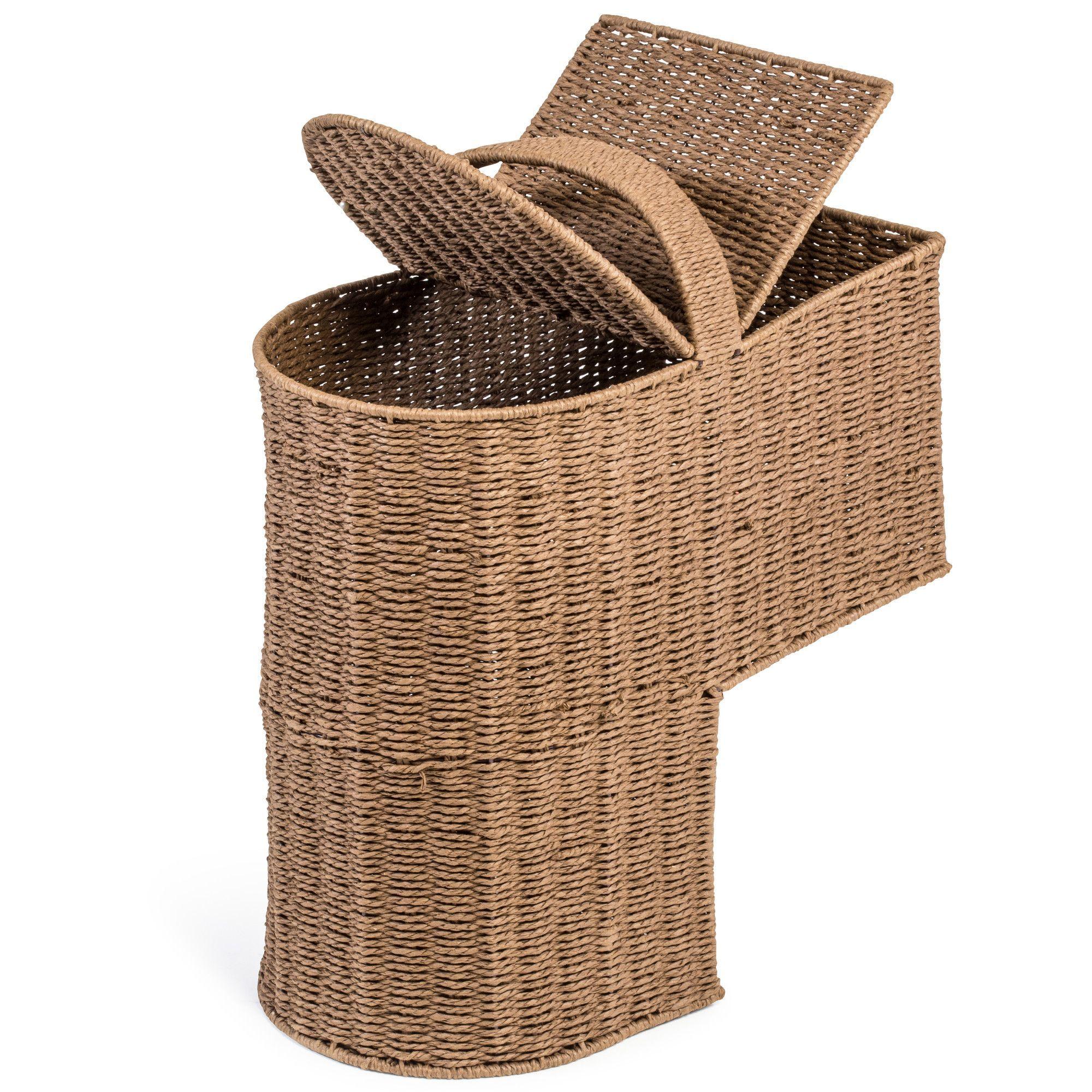 Merveilleux Storage Stair Basket With Handle   Wayfair