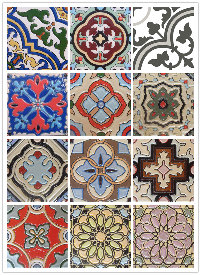 American Classical Decorative Ceramic Tiles Hand Printed Tiles Photo Detailed About American Classical Hand Printed Tile Decorative Ceramic Tile Ceramic Tiles
