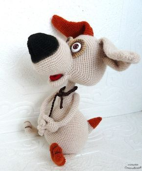 вязаные игрушки мастер классы онлайны Vk амигуруми собака