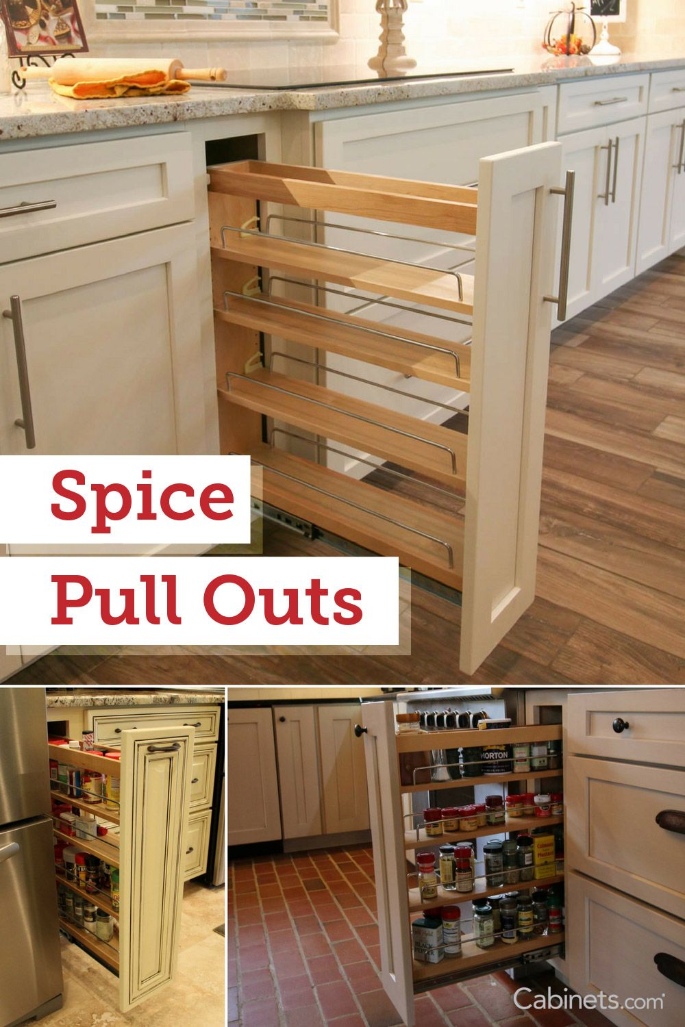Cabinet Feature Like The Spice Pull Out Is Beneficial Custom Options To Incorporate Into Your New Kitchen View M Home Decor Kitchen Kitchen Plans Kitchen Redo