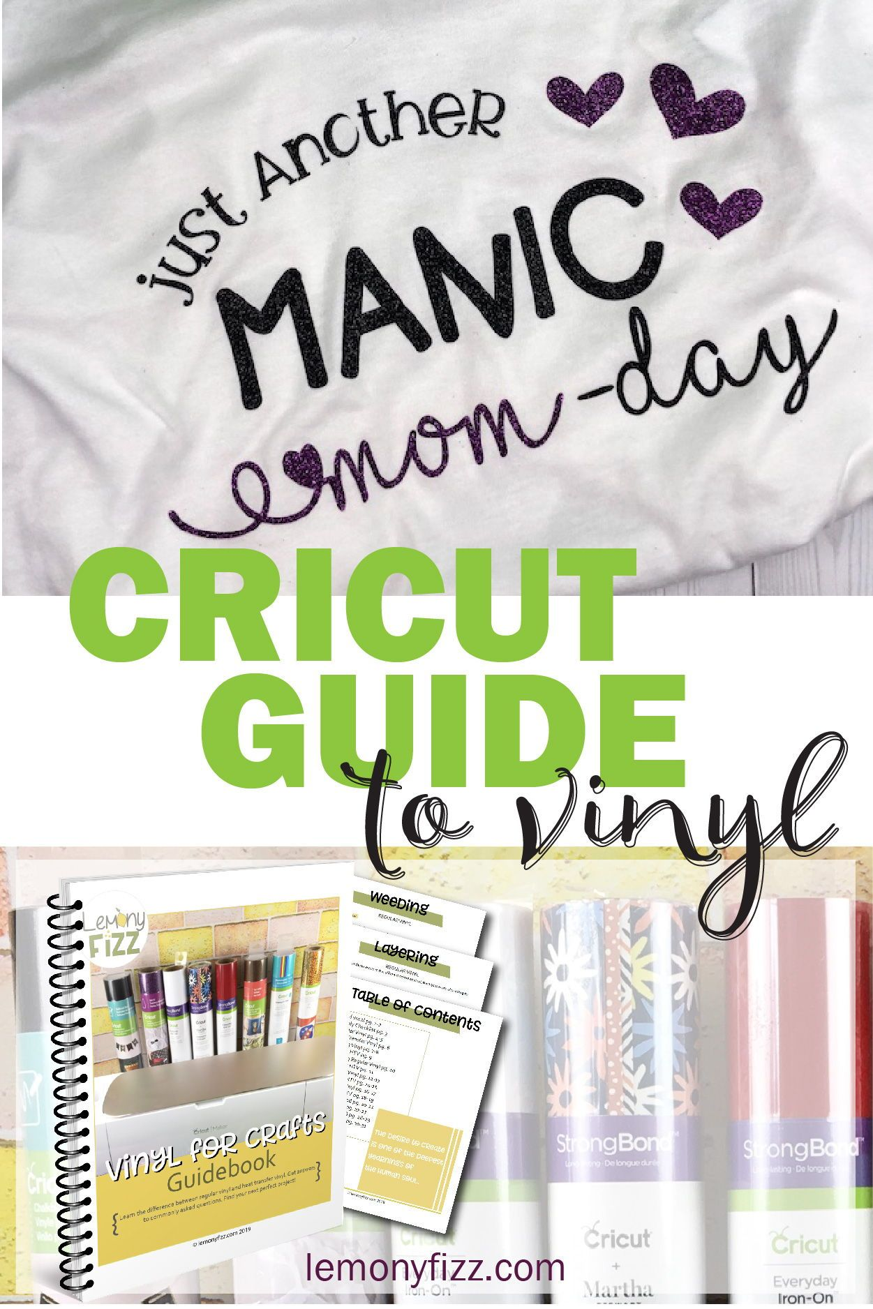 Vinyl for Crafts: A beginner's guidebook #cricutvinylprojects