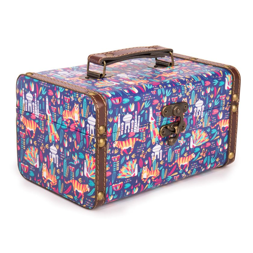 Buy A Story In Stripes Suitcase - Small Online - Chumbak