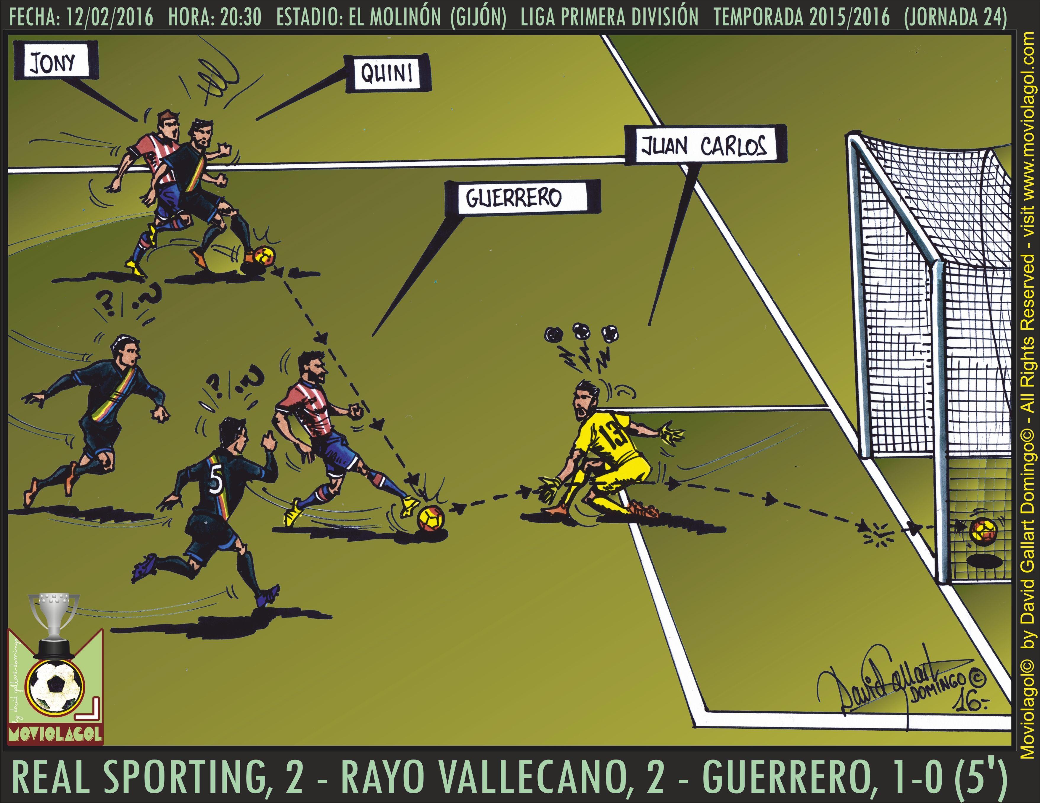 Moviolagol_by_David Gallart Domingo_La_Liga_2015-2016_J_24_Real Sporting, 2 - Rayo Vallecano, 2 - Guerrero, 1-0 (5')