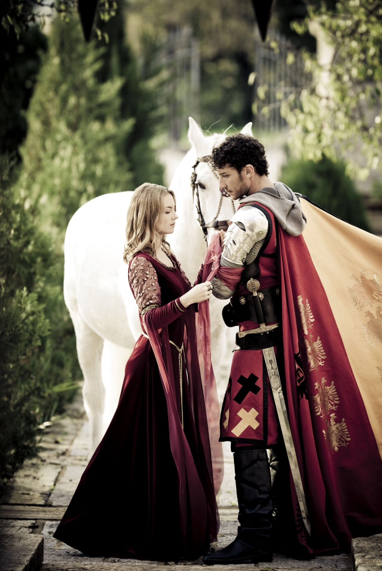 knight and princess - 736×1099