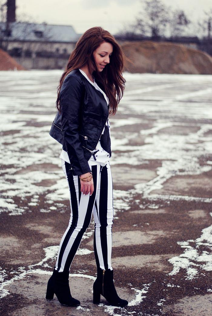 Tendência Inverno 2013: preto & branco