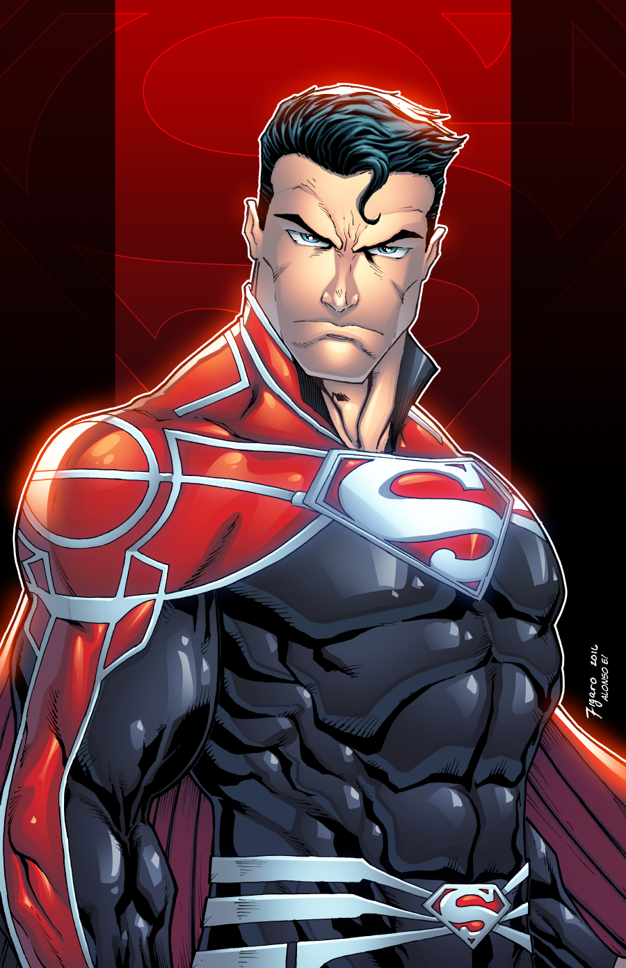Pin by ANdRe tHa rOcK WIlliAmS on KRYPTON Superman art