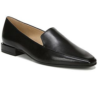 Naturalizer Moccasin Front Loafers with Edgy Heel - Clea — QVC.com