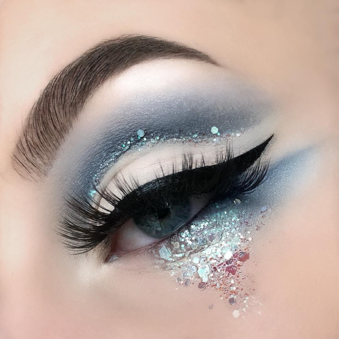 Chloe Young On Instagram Ice Queen Eye Makeup Makeup