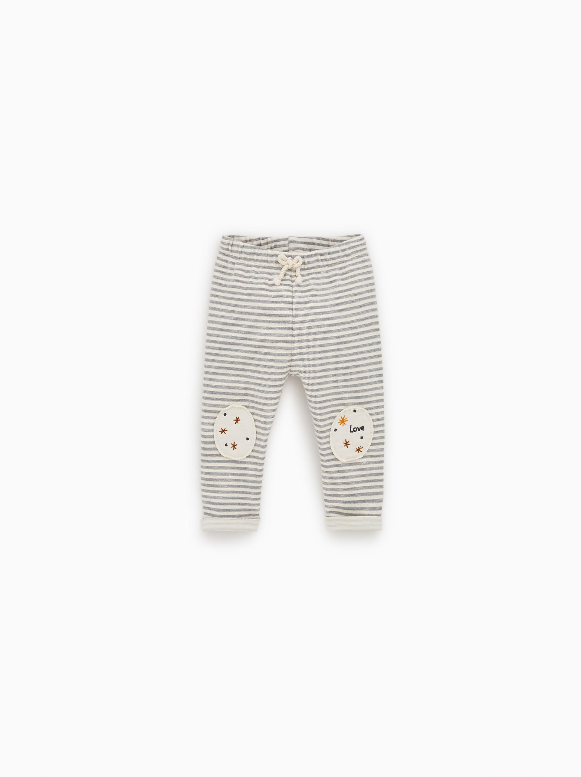2bf3016c PANTS WITH KNEE PATCHES - PANTS AND OVERALLS-MINI | 0-12 mth-KIDS | ZARA  Canada