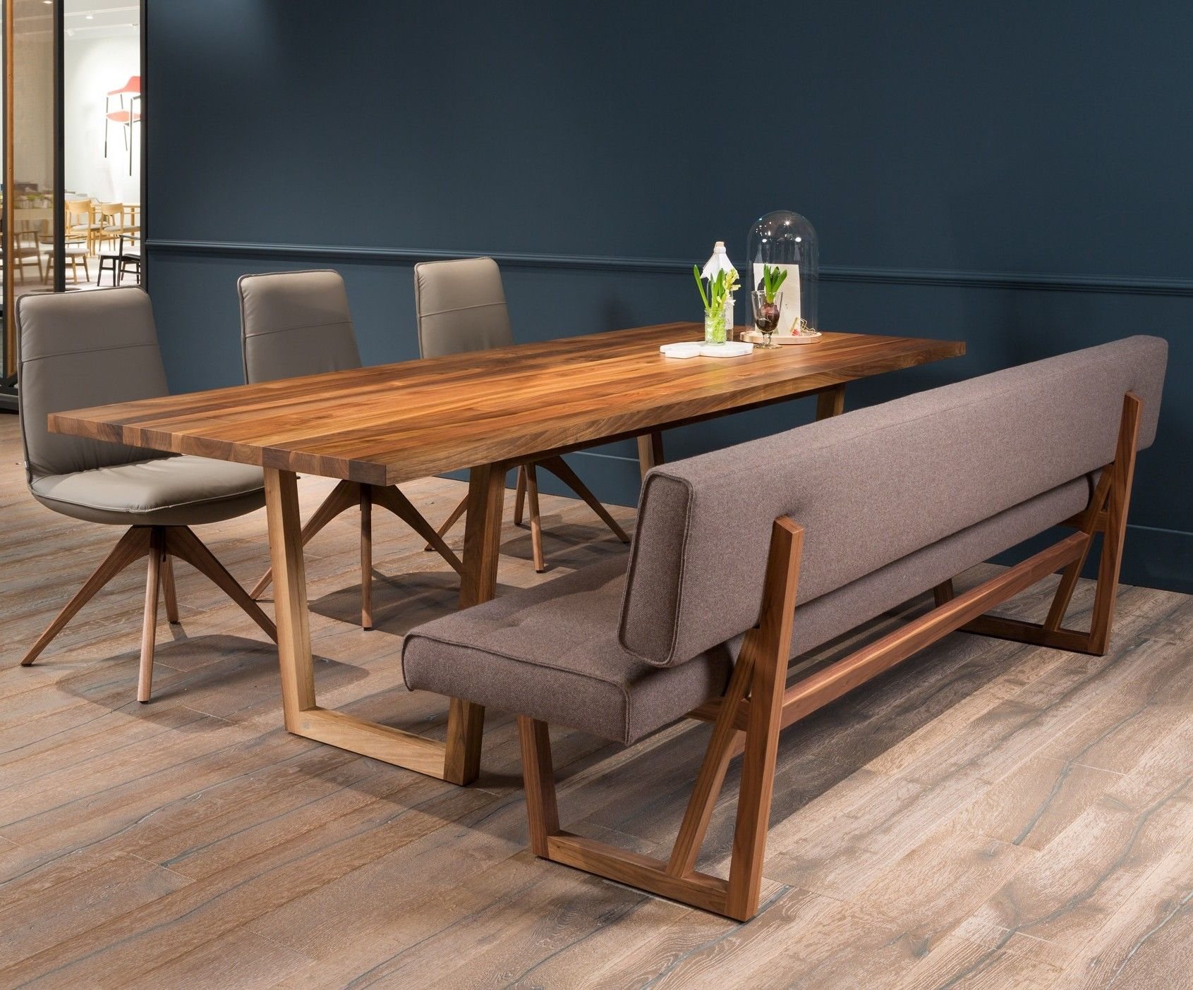 Esszimmer Rolf Benz Studio Anise Beautiful Example Of The Dining Set Possibilities
