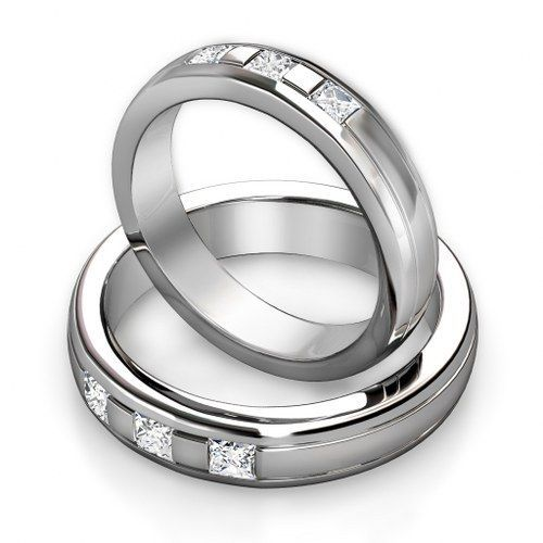 Cheap Wedding Bands for Men and Women Set TV Wedding Bands For