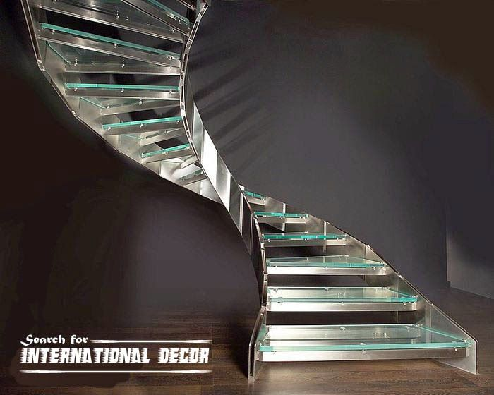 Best Spiral Staircase To The Second Floor Glass Staircase 400 x 300