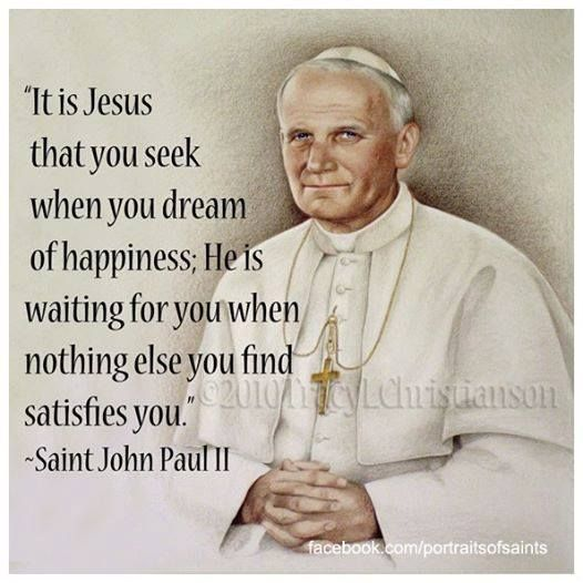Pope John Paul Ii Quotes Pleasing Image Result For St Pope John Paul Ii Quotes  Jesus And Mary