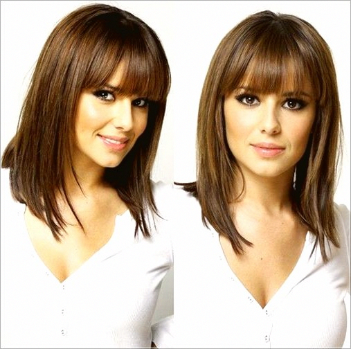 2019 Medium Hairstyles For Women Over 40 Hairstyles Medium Women Longhairst Thick Hair Styles Medium Length Hair Styles Long Bob Hairstyles For Thick Hair