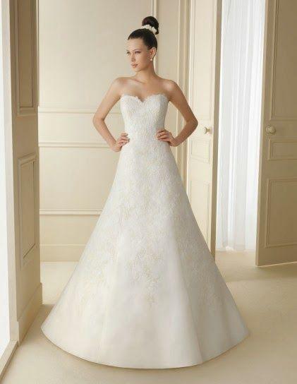 Bellos vestidos de novias | Moda para Bajitas