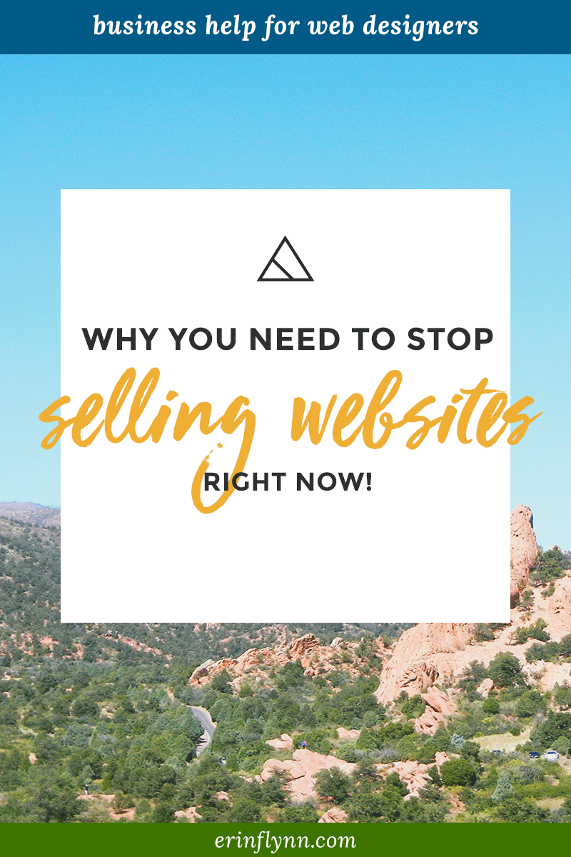 Stop Selling Websites Right Now Sell Solutions Instead Erin Flynn Web Design News Web Design Solutions