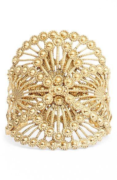Virgins Saints & Angels 'Venado' Cuff Bracelet available at #Nordstrom
