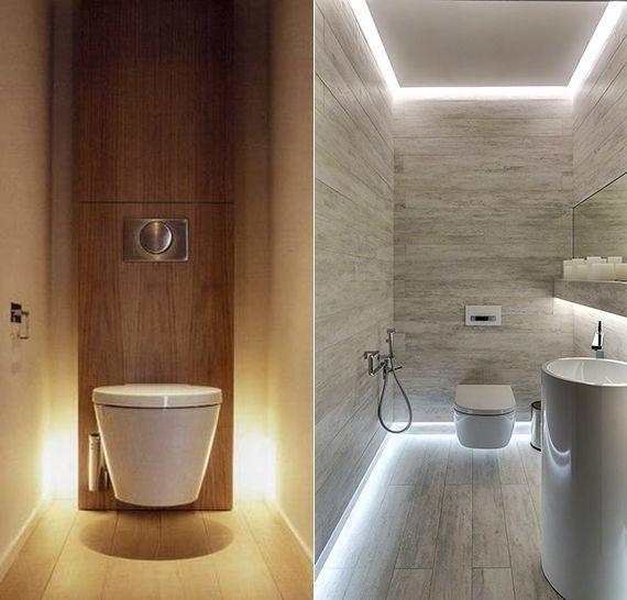 Bad modern gestalten mit Licht in 2019  Bathroom  Badezimmer licht Deckenbeleuchtung
