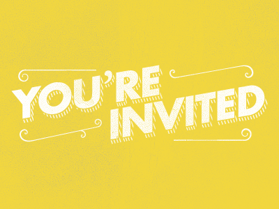 You Re Invited Youre Invited Lettering Invitations