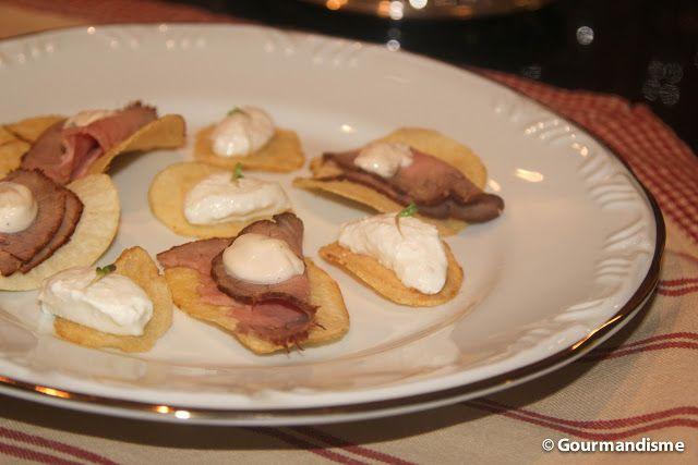chips de rosbife