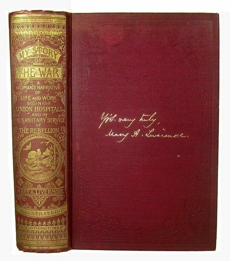 CIVIL WAR Army Nurse Memoir HOSPITAL NURSING SLAVERY UNION