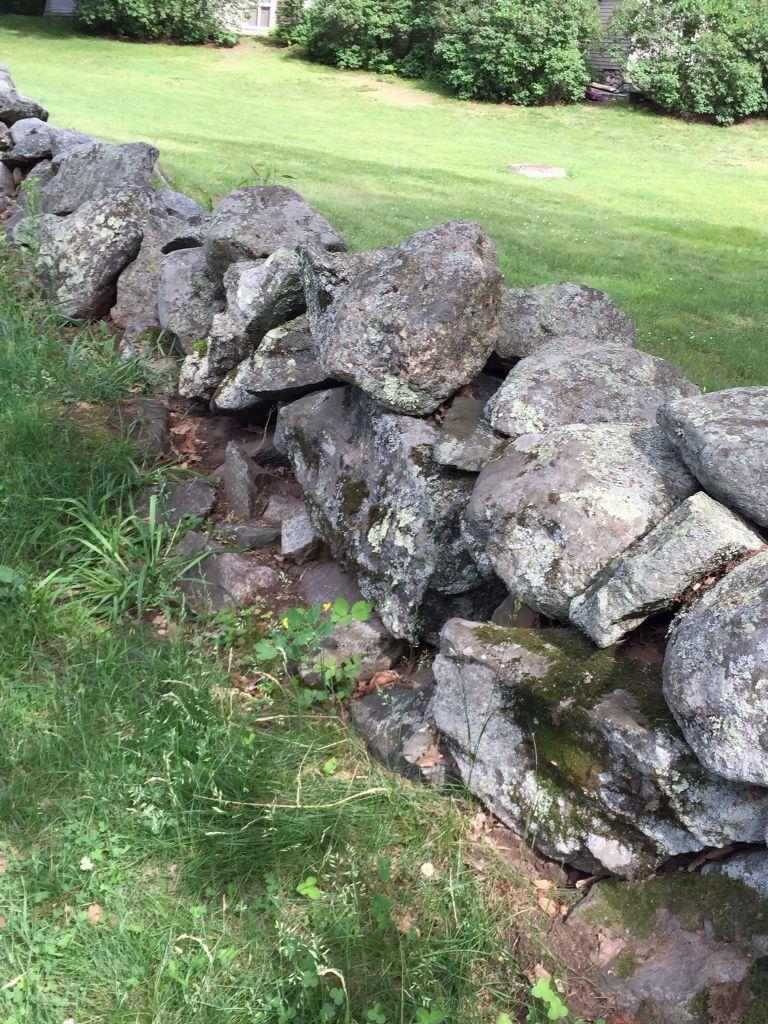 Concord, MA rock wall