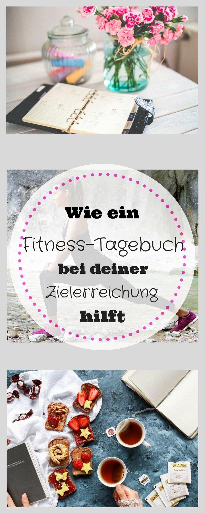 Ernahrungs Und Fitness Tagebuch Fuhren Fitness Tagebuch