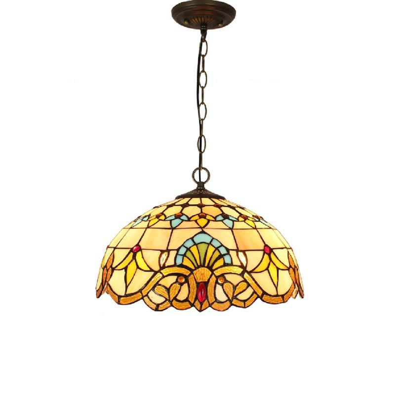 Suspended Luminaire Quality Pendant Lights Directly From China Chain Light Suppliers Baroque Tiffany Stained Gl Lighting