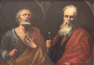 Artículos Religiosos Montserrat: San Pedro y San Pablo