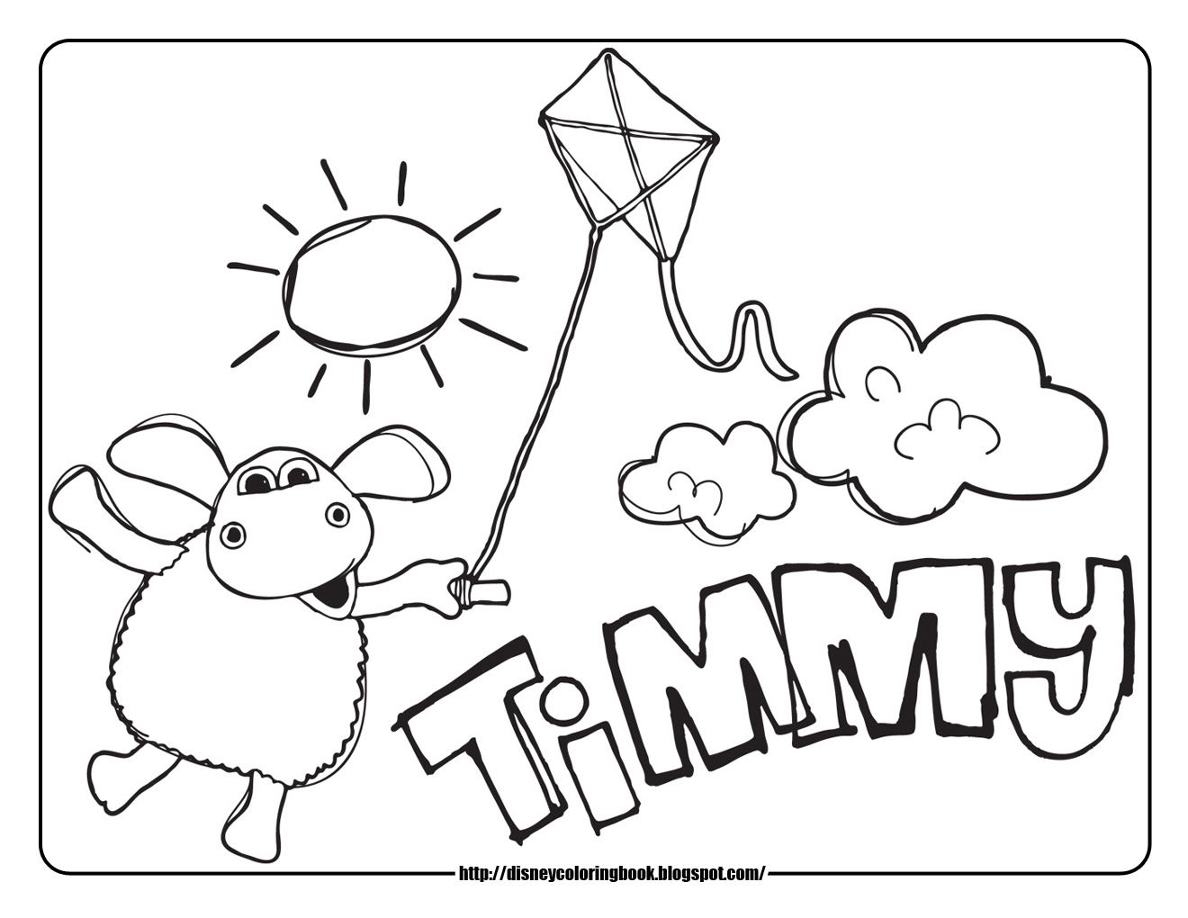 Timmy Time Coloring Pages Party Ideas Coloring Pages Disney