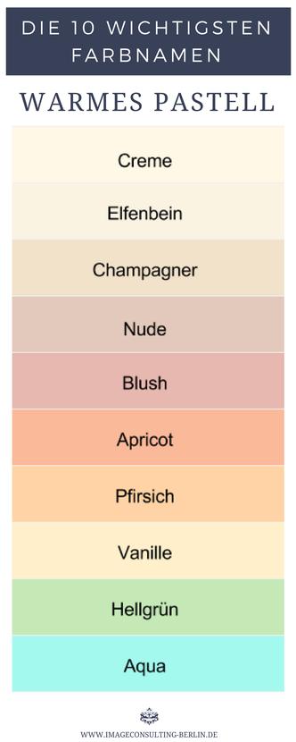 Warme Pastellfarben sind Creme Elfenbein Champagner Nude Blush Apricot Pfirsich Vanille