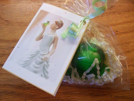Personalized Wedding Favors Wish Frog Soap