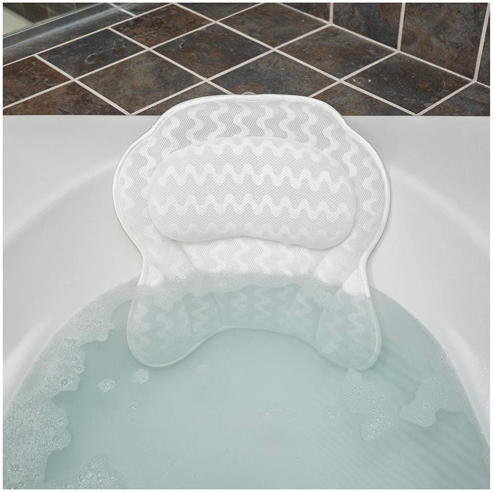 Ergonomic Bathtub Cushion Durable Men Women Relax Bath Pillow Bath Comfort Kit Ebay Bath Pillows Bathtub Pillow Best Bath