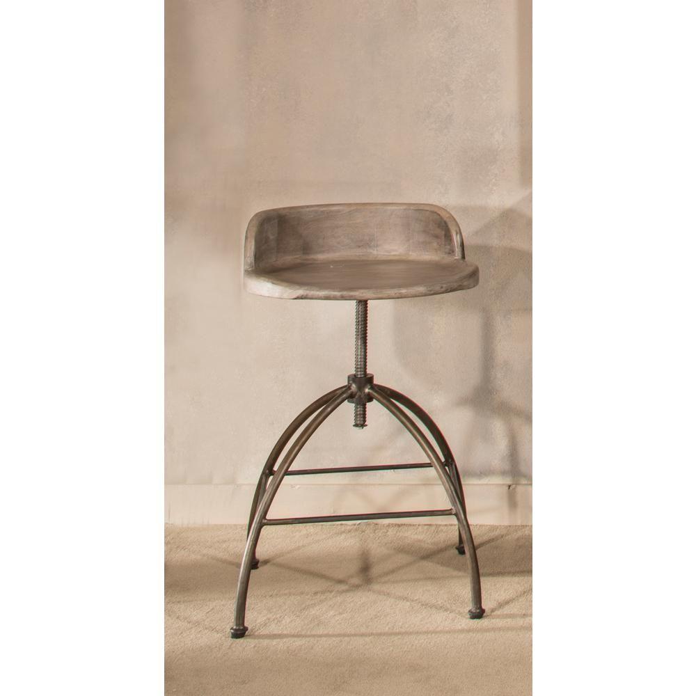 Terrific Hillsdale Furniture Bridgewater Adjustable Height Black Bar Gamerscity Chair Design For Home Gamerscityorg