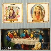Tecido Patchwork Painel Supremo Digital Cor 00014 Santos c/ 1,37cmx1,46mt