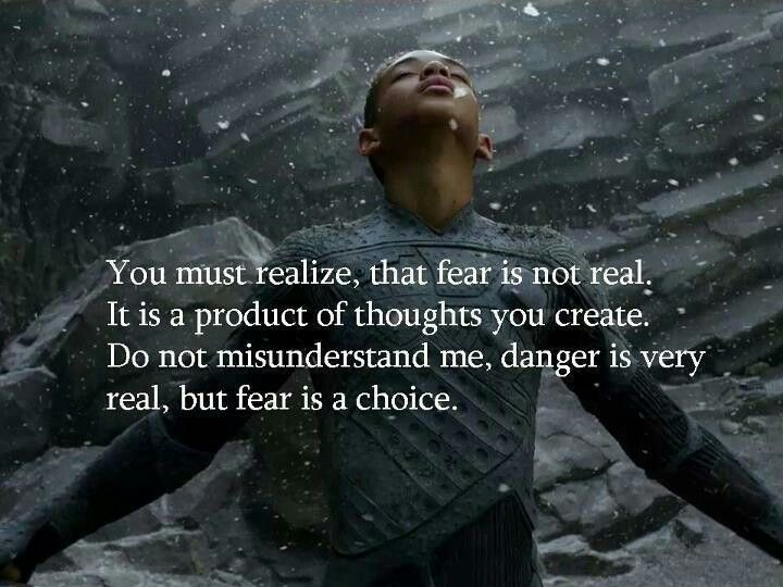 Image result for after earth quotes