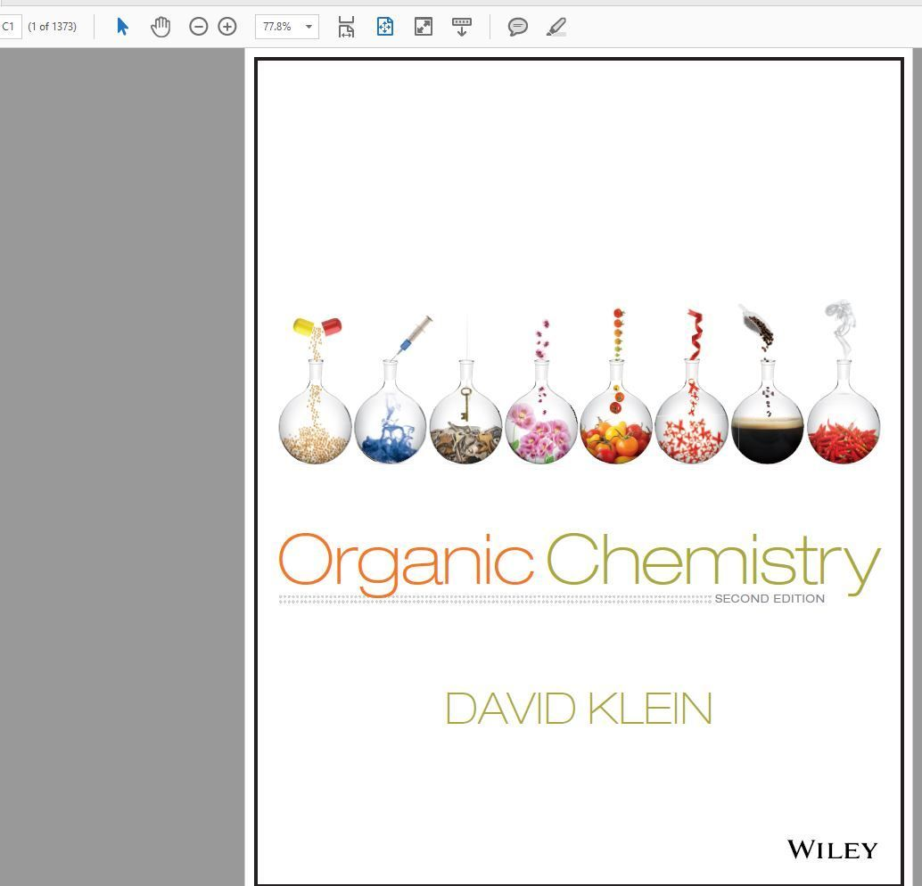 David RKlein Organic Chemistry 2nd Edition and Student / Solution manual