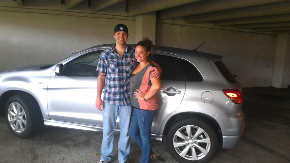 Daniel & Kristene Cook with their brand new 2012