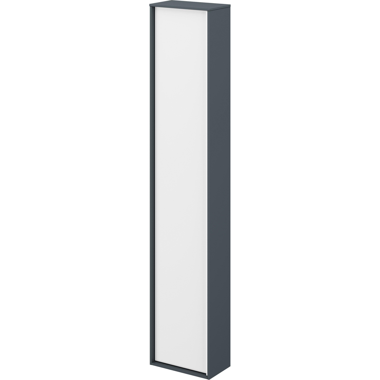 Colonne Neo Leroy Merlin colonne l.30 x h.154 x p.17 cm, mineral blanc, neo frame