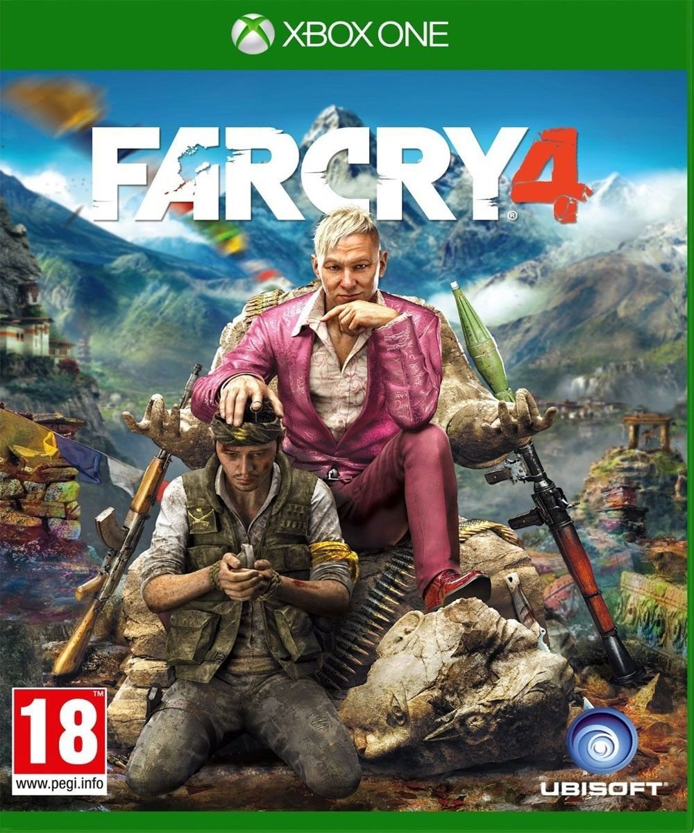 Far Cry 4 (With images) Xbox one games, Far cry 4, Ps4