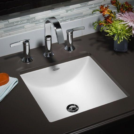 American Standard 0426.000 Studio Carre Undercounter Sink | American ...