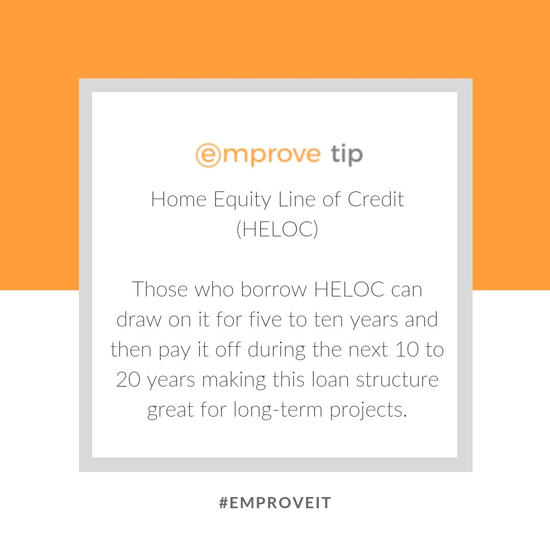 A Home Equity Line Of Credit Or A Heloc May At First Seem