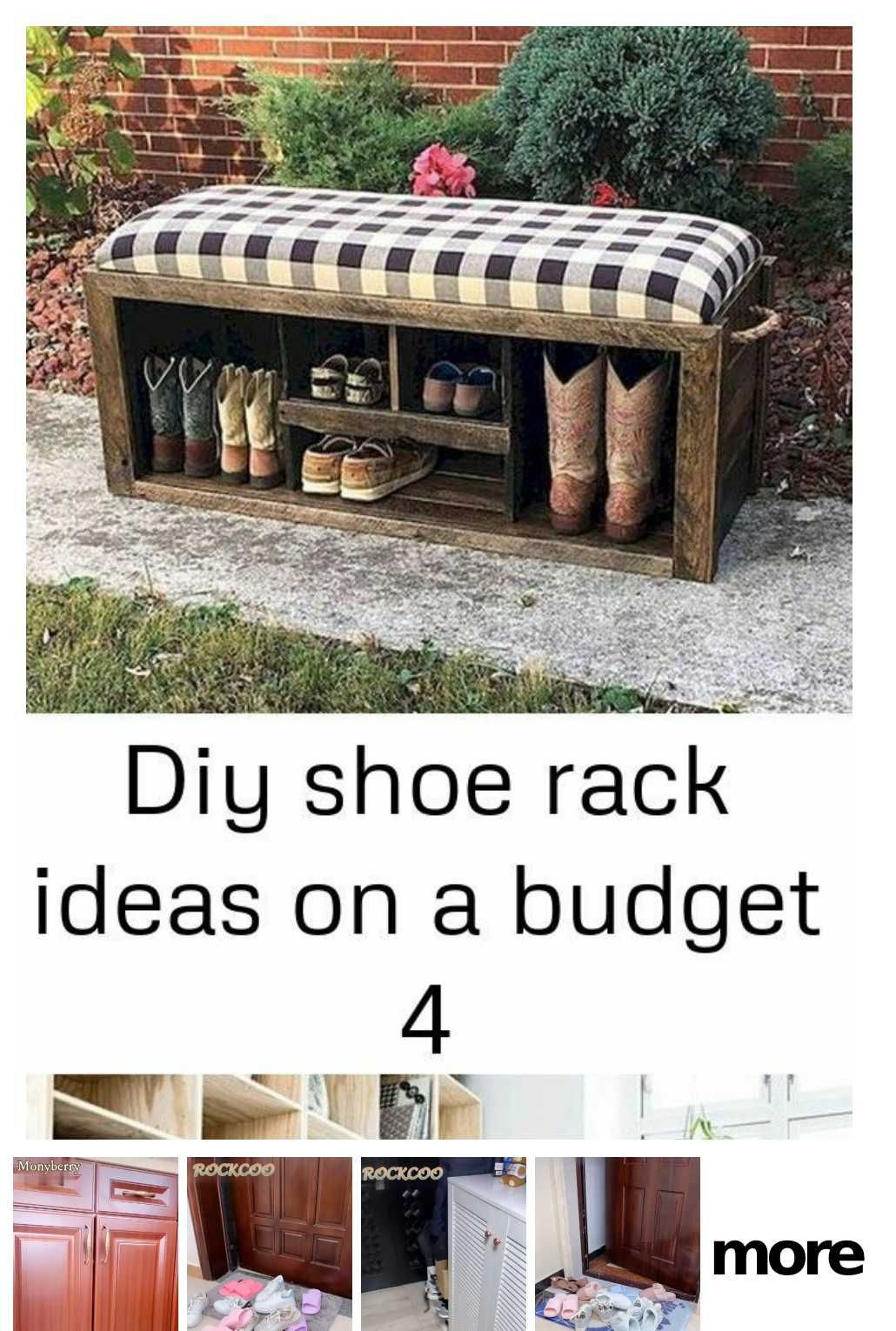 Pin On Shoes Rack
