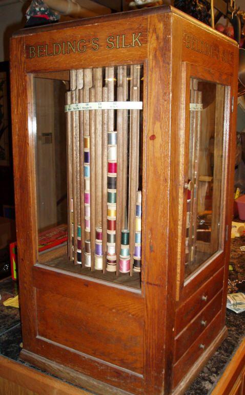 Amazing Vintage Thread Cabinet Accessories Decor Diy
