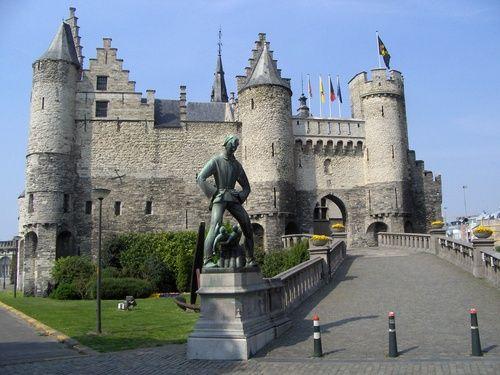 Het Steen en Lange Wapper  Antwerpen-Antwerp