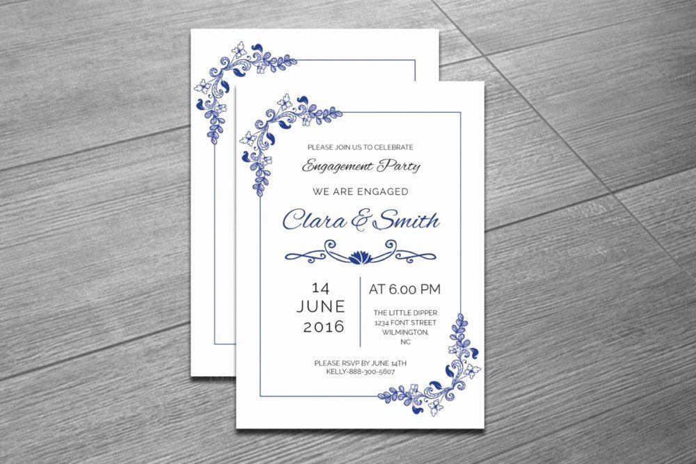 35 Indesign Wedding Invitation Template Engagement Invitation Template Engagement Invitations Invitation Template